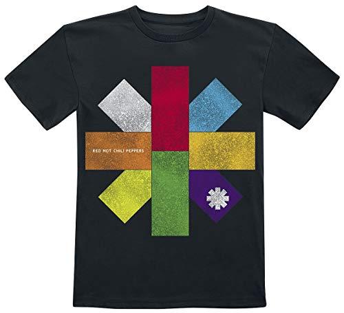 Red Hot Chili Peppers Colour Block T-shirt navy Band merch, Bands, Nachhaltigkeit