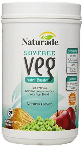 Naturade Soy Protein-gratuit Veg Booster, arôme naturel, 29,6 once