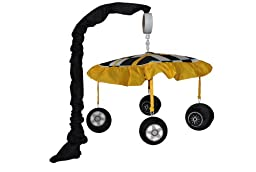 DK Leigh Tiny Turbo Musical Mobile, Race Car Tire