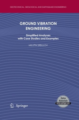 Ground Vibration Engineering: Simplified Analyses with Case Studies and Examples (Geotechnical, Geological and Earthquake Engineering)