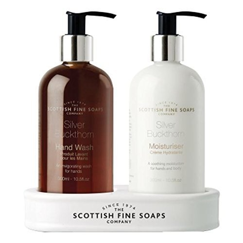 Scottish Fine Soaps Silver Buckthorn Hand Care Set HealthMarket