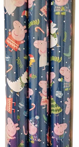 Peppa Pig Theme Gift Wrap - Wrapping Paper 20 sq ft. 1 Roll