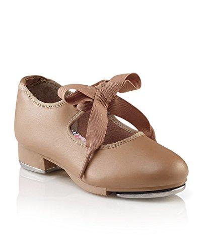 Capezio Women's N625 Jr. Tyette Tap Shoe,Caramel,7.5 W US