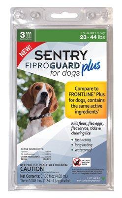 Sentry Fiproguard Plus Dog Flea & Tick Spot-On
