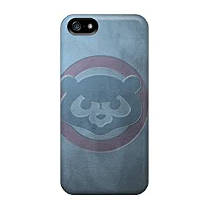 Special Design Back Cubs Blue Phone Cases Covers For Iphone 5/5s