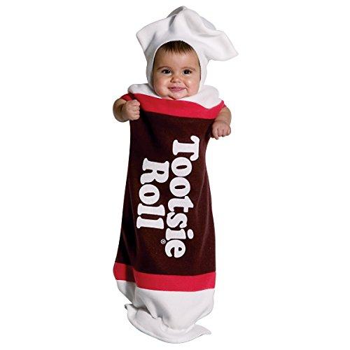 Newborn Tootsie Roll Costume (Tootsie Roll Bunting Costume - Newborn)