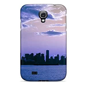 High Quality Awesome Vancouver Skyline Case For Galaxy S4 / Perfect Case