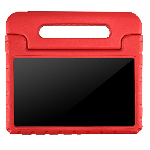 LG G Pad 7.0 Kids Case – BMOUO Protective Light Weight Shock Proof Convertible Handle Stand Case for LG G Pad V400 / V410 (LTE) / VK410 / UK410 / LK430 (G Pad F7.0) 7 Inch, Red