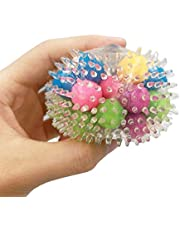 Squeeze Ball Toy DNA Stress Balls Colorful Beads Sensory Toy Relieve Tension, Stress Exercise Hand Ball Toy for Kids / Adults