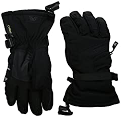 Gordini's Da goose V GTX, strategically placed naturalist 600-fill natural down and mega loft synthetic insulation combo keep hands warm while preventing the down from compressing and losing function. The glove's technology rounds out with a ...