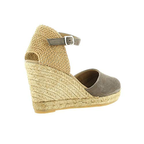 Taupe Velours Pao Pao Espadrille Cuir Espadrille pUPaqSB