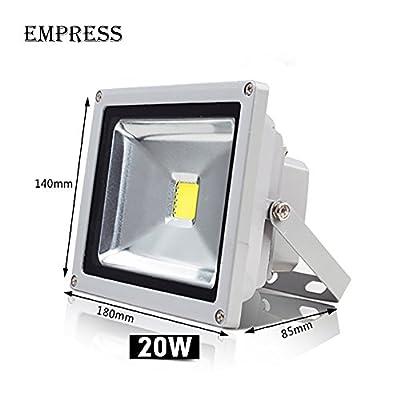 Warm White, 10W : New Led Flood Outdoor Floodlight Lamp 10W 20W 30W 50W 220V LED Flood light street lamp refletor foco led Spotlight exterior IP65