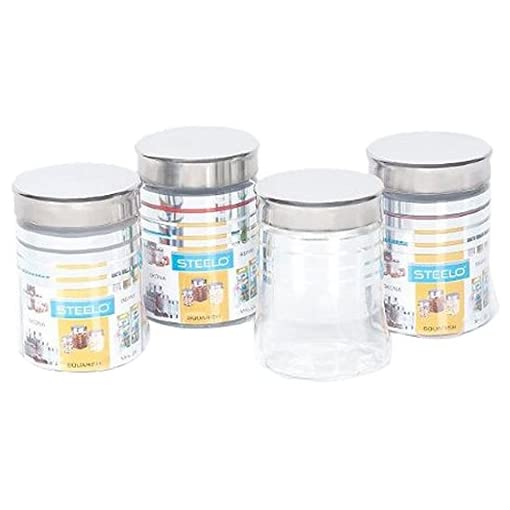 Steelo Belly Container Set, 500Ml, Set Of 4