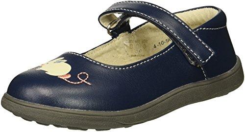 - See Kai Run Girls' Ava Mary Jane Flat, Navy, 10 M US Toddler