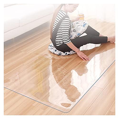 Transparante Tabel Stoel Vloerbescherming Mat Waterdichte Zachte Glas PVC Tafelkleed Beschermende Mat Scratchesistentie…