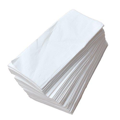 Asciugamano monouso spunlace 400pezzi ripiegati. eurocosmetics