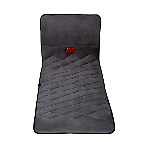 10 Motor Full Body Mat - Massage Mat with 10 Vibrating Motors Full Body Massager Cushion for Relieving Back Lumbar Leg Pain