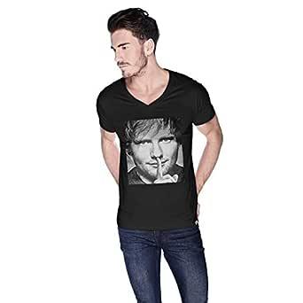 Creo Ed Sheeran T-Shirt For Men - M, Black