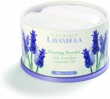 Lavender Talcum Powder with Powder Puff 100gm Perfumed Talc