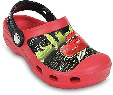Crocs Infantil Clog Crocband Disney Lightning McQueen, Vermelho, Tamanho 24/25 BRA