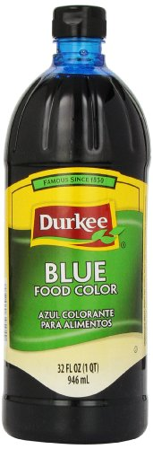 Durkee Food Color, Blue, 32-Ounce