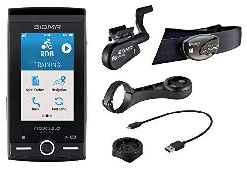 Sigma ROX GPS 12.0 Sport Set Cycling Computer Grey