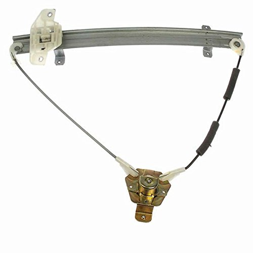(NEW MANUAL WINDOW REGULATOR FOR HYUNDAI EXCEL HATCHBACK 1994-1992 1992-1994 FRONT RIGHT 8240224520, 740-239 )
