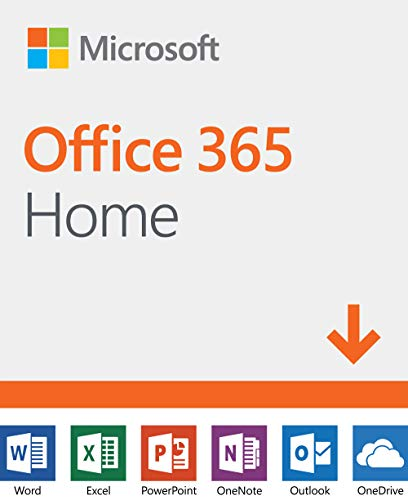 Software : Microsoft Office 365 Home | 12-month subscription, up to 6 people, PC/Mac Download