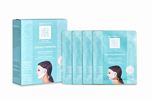 LACE YOUR FACE Compression Facial Mask - Calming Chamomile -