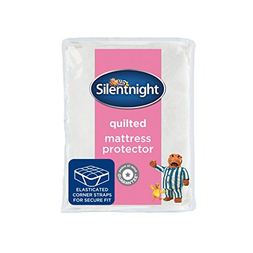 -[ Silentnight Quilted Mattress Protector - King  ]-