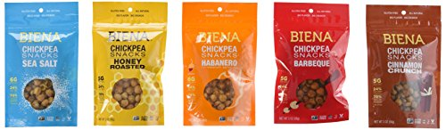 Biena Chickpea Snacks Variety Ounce product image