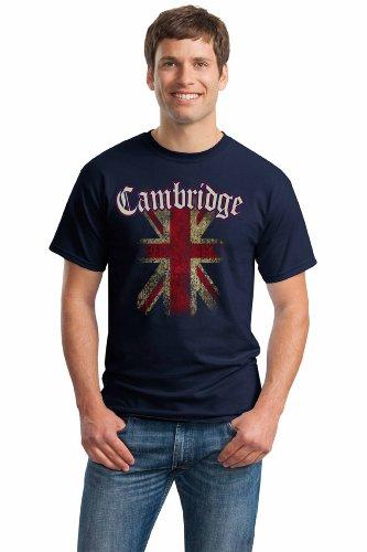 CAMBRIDGE, ENGLAND Unisex T-shirt / United Kingdom Flag Union Jack UK Tee
