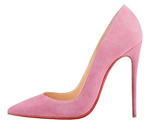 TDA - Sandalias con cuña mujer, color rosa, talla 40 EU