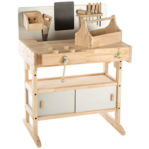 vente ultrakidz tabli pour enfant en bois massif 32 pices. Black Bedroom Furniture Sets. Home Design Ideas