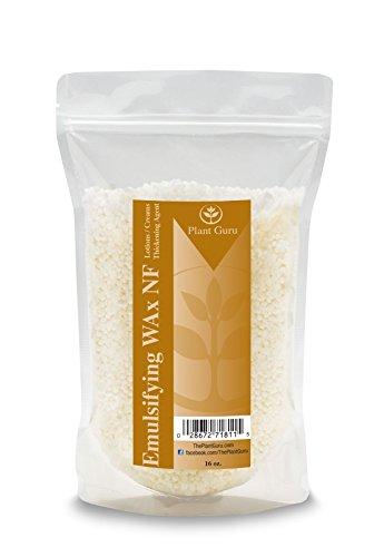 Emulsifying Wax Recipes (Emulsifying Wax NF, NON-GMO Premium Quality Polysorbate 60/ Polawax 16 oz / 1 Pound)