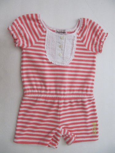 Juicy Couture Romber Terry Girls Pink/white Stripes (18/24  Months)