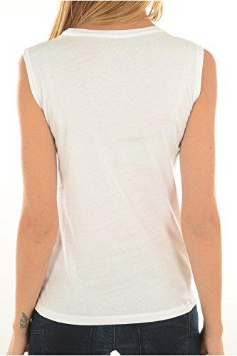 Guess Damen T-Shirt weiß weiß