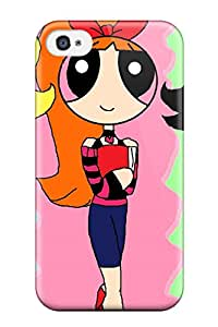 Hot Fashion LYlmDen1712AoAZY Design Case Cover For Iphone 4/4s Protective Case (the Powerpuff Girls)