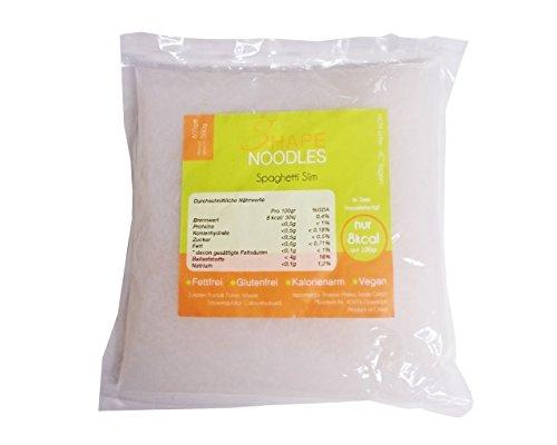 Shape Noodles Spaghetti Slim, 2er Pack (2 x 800 g)