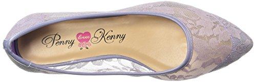 Öre Älskar Kenny Kvinna Knut Fl Balett Platt Lavendel Spets