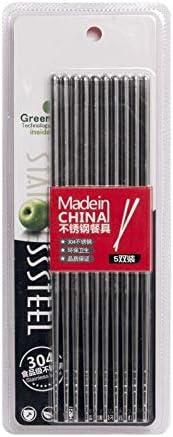 Pamai Pai/® 5 Paar Essst/äbchen Kranich Chinesische St/äbchen Chopsticks Set Sushi 6006464