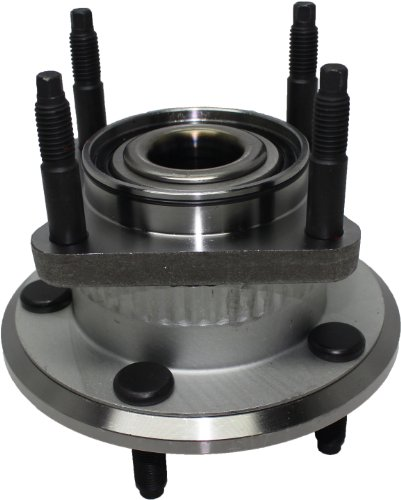 Detroit Axle - Rear Wheel Hub and Bearing Assembly For 2006-2010 Jeep Commander w/ABS - [2005-2010 Jeep Grand Cherokee w/ABS]