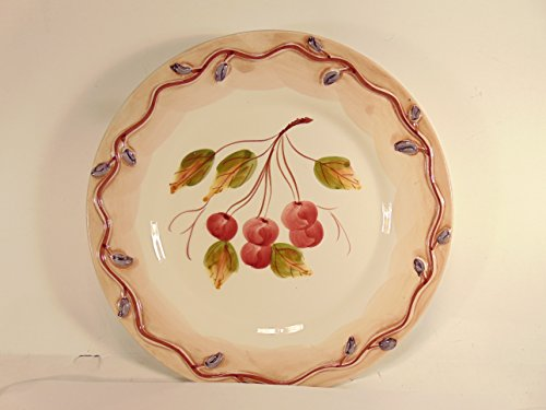 """8"""" Decorative Collector's Plate - """"CHERRIES"""" by J., used for sale  Delivered anywhere in USA"""