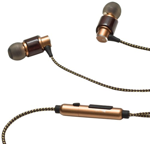 385 Audio ETZ Mini In-Ear Earbuds with Microphone (Brown) (Discontinued by Manufacturer)