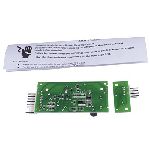 Refrigerator Ice Level Control Board for Whirlpool Emitter Sensor 4389102 W10757851 ADC9102 ()