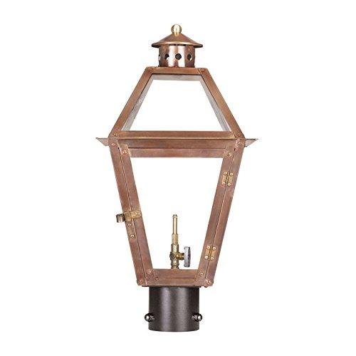 10 in. Outdoor Gas Post Lantern