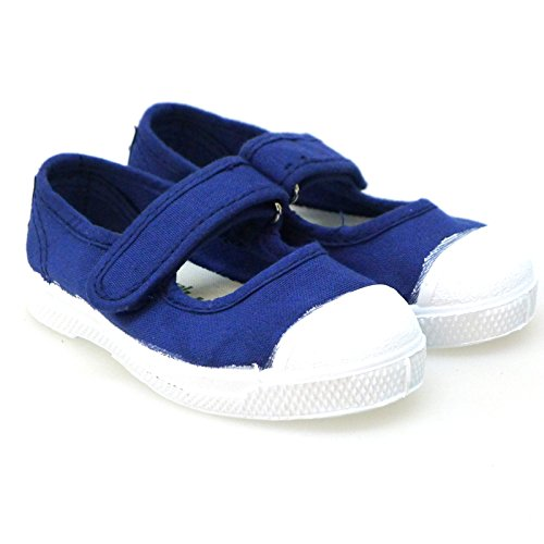 Zapatos Primeros Pasos Casual Sneakers Natural World 476 Azul