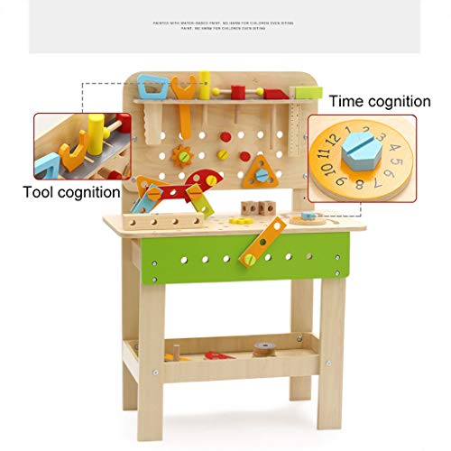 ZYN Children's Tool Chair Puzzle Hand Toy Large Screw Cap Combination Packages by ZYN (Image #2)