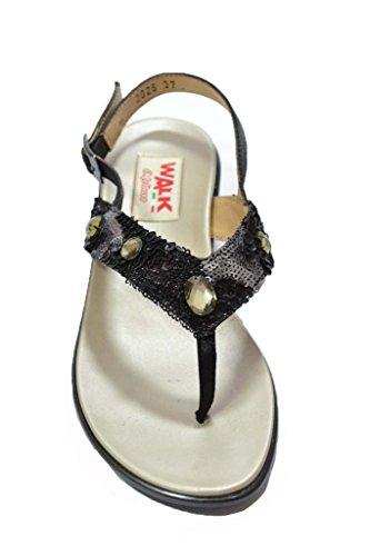 Melluso Sandali infradito nero scarpe donna R8607