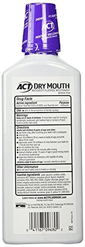 ACT Total Care Dry Soothing Mouthwash, Mint, 18 Ounce by ACT (Image #1)